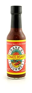 Daves Gourmet Ultimate Insanity Hot Sauce from Dave's Gourmet, Inc.