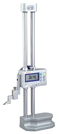 "Mitutoyo 192-630-10 LCD Digimatic Height Gage, 0-12"" Range, 0.0005""-0.0002"" Resolution, +/-0.001"" Accuracy, 4.7kg Mass"