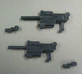 モデリングサポートグッズ ウェポンユニット07 ダブル・サブマシンガン
