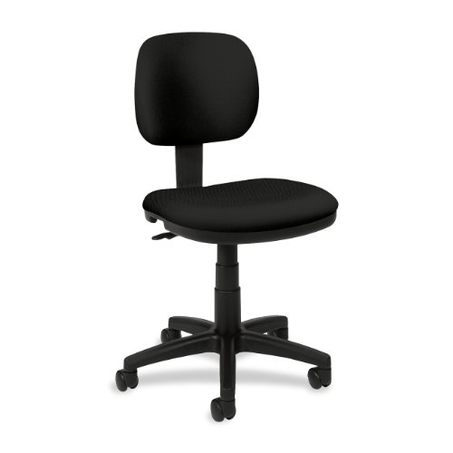 HON VL610 Series Swivel Task Chair for Office or Computer Desk, Black