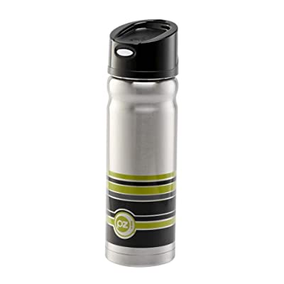 Stainless Steel Thermal Water Bottle - 16 oz Geo with Pop Lid