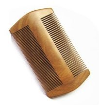 Myhsmooth-GS-SM-N2F-Handmade-Natural-Green-Sandalwood-No-Static-Comb-pocket-Comb-Beard-with-Aromatic-Scent-for-Long-and-Short-Beards-perfect-Mustache-Comb4-Two-Sides