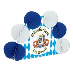 Oktoberfest Pop-Over Centerpiece Party Accessory (1 count) (1/Pkg) - 1