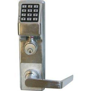 alarm lock etdl trilogy exit panic trim digital keypad lock w audit trail camera. Black Bedroom Furniture Sets. Home Design Ideas
