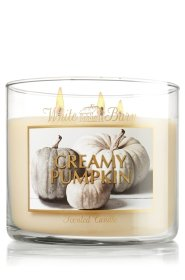 White Barn 14.5 Oz. 3-wick Candle Creamy Pumpkin