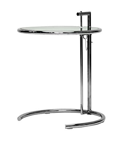Baxton Studio Eileen Stainless Steel Accent Table As You See