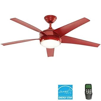 Home Decorators Collection Windward Iv 52 In Red Ceiling