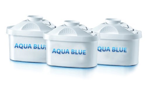 3 Pack Premium Replacements Filter for Mavea Maxtra 1001122 Pitcher By Aqua Blue