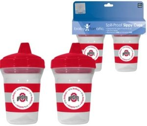 Ncaa Ohio State Buckeyes Baby Fanatic Sippy Cup (2-Pack) back-752442