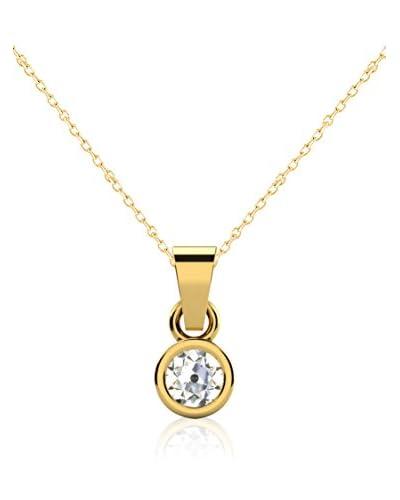 Friendly Diamonds Set catenina e pendente FDP6241Y Oro Giallo