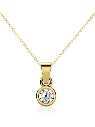 Friendly Diamonds Conjunto de cadena y colgante FDP6241Y Oro Amarillo