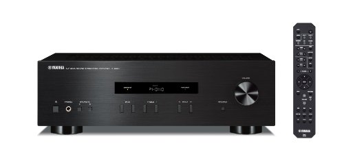 Yamaha AS201-BLACK 200W RMS Hi-Fi Amplifier - Black