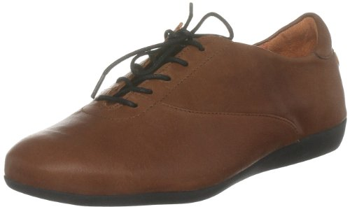 Softinos Women's Doris Light Brown Casual Lace Ups P900055059 3 UK