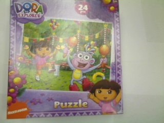 Cheap Nick Dora the Explorer 24-Piece Jigsaw Puzzle, Boots and Dora at a Party (B002YK3BNM)