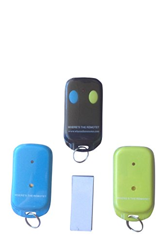 Where's the Remote? Key Finder Wireless item keyfinder RF locator, Remote Control, Pet, Cell (Locators For Remotes compare prices)