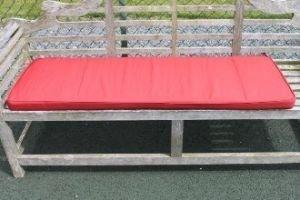 Uk gardens terracotta garden furniture 3 seater garden - Matelas pour banc exterieur ...