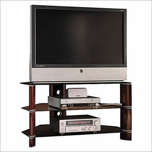 Cheap Bush Segments 42 Inch Wood TV Stand and Audio Rack Set (VS11536A-AD11540A)