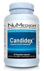 NuMedica - CandideX - 60 Vegetable Capsules