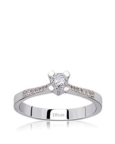 Divas Diamond Anello 0.25 ct Gold Diamond Solitaire