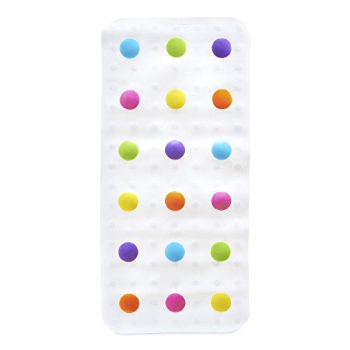 munchkin Tapis de Bain Rigolo à Pois Multicolore