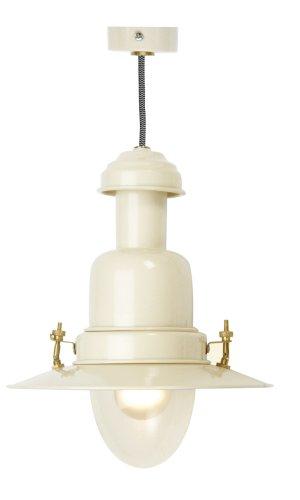 Brand New Large Cream Fisherman Light Lamp