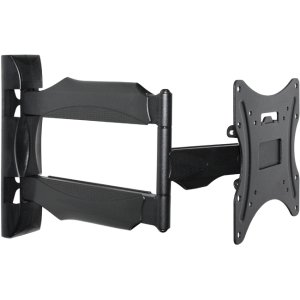 """Telehook Th-1040-Vfl Ultra Slim Mount For Small To Medium Led, Lcd, And Plasma Tvs. 1040 Wall Full Motion Ultra Slim Mnt F/ Small To Med Led Lcd Tv. For Flat Panel Display - 10"""" To 40"""" Screen Support - Steel - Black"""