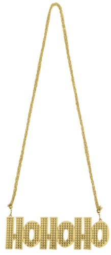 Gold Ho Ho Ho Necklace - 1