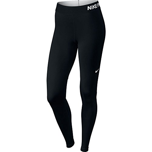 Nike donna abbigliamento donna Pro Cool Tights, Donna, Oberbekleidung Pro Cool Tights, Black/White, M