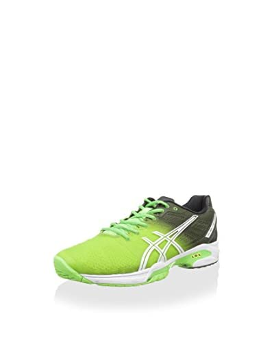 Asics Scarpa Sportiva Gel-Solution Speed 2 [Verde/Bianco/Nero]