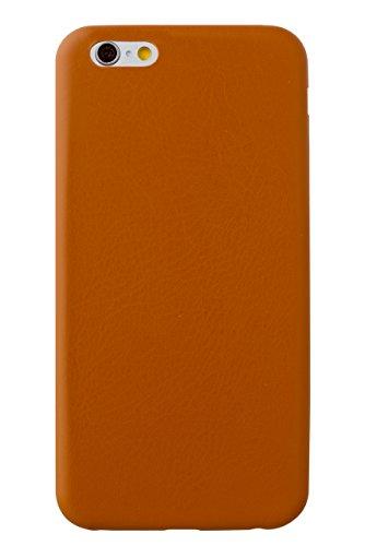 エアー ウルトラ スリム PU レザー ケース for iPhone 6s / iPhone 6 (キャメル)
