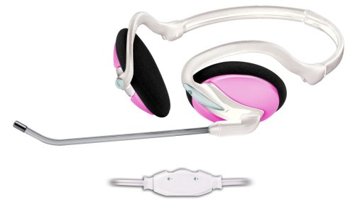 Trust InTouch Travel Headset pink