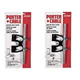 PORTER-CABLE 42160 Standard Router Edge Guide (2-(Pack)) (Tamaño: 2-(Pack))