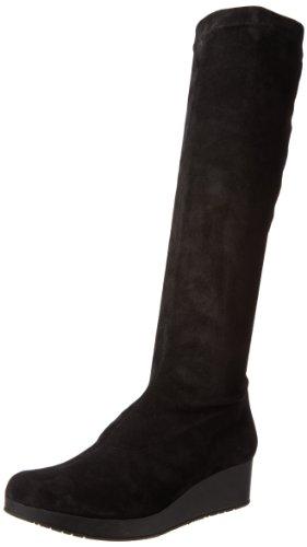 Robert Clergerie Women's Volonf Boot,Stretch Noir,36.5 EU/6 B US