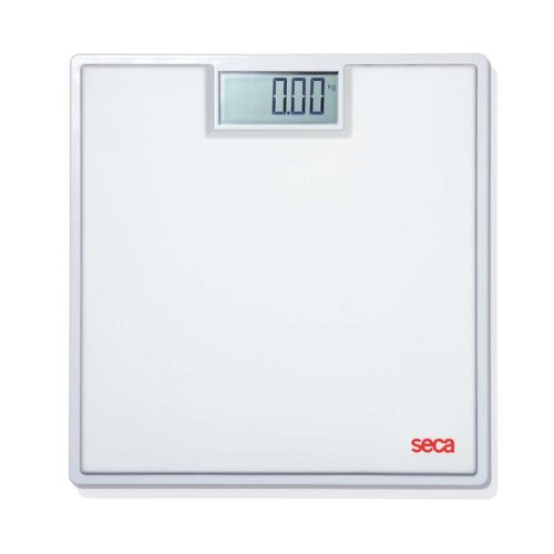 Buy Low Price Seca 803 Clara Electronic Flat Bathroom Scale With Large Lcd Numbers B008y5kt68