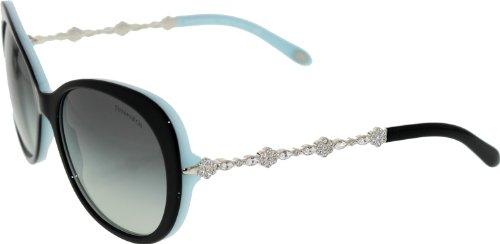 774d919bb92f Tiffany 80553C Black on Azure 4053B gd FR Sunglasses Lens Category 2