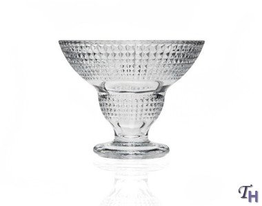 Set of 4 Crystal Ice Cream Cups Stud Design