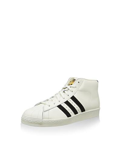 adidas Zapatillas abotinadas Pro Model Vintage Dlx Blanco