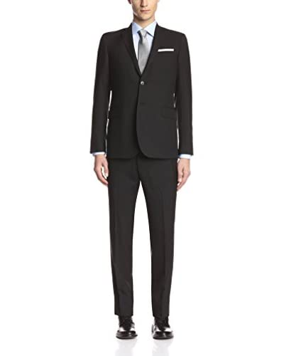 Pierre Balmain Men's Solid 2 Button Slim Fit Suit