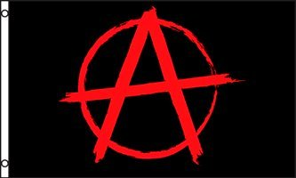 Anarchy 3x5 ft Polyester Flag (Anarchy Emblem compare prices)