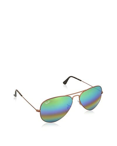 RAY BAN Gafas de Sol Aviator Large Metal 3025-18 (62 mm) METLALLIC MEDIUM BRONZE WITH LIGHTGREYMIRRO...
