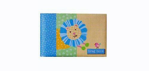 Pepperpot Baby Brag Book, Patterned Pals front-792234