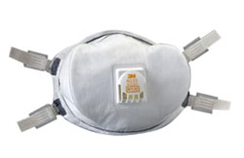 3M 8233 N100 Particulate Respirator - Case Of 20