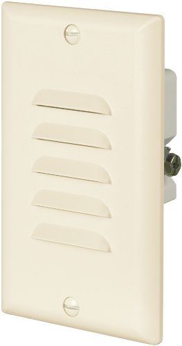 Cooper Wiring Devices 7739La-Box 15-Amp 120-Volt Led Stoplight With Vertical And Horizontal Louvered Wall Plates, Light Almond front-927928
