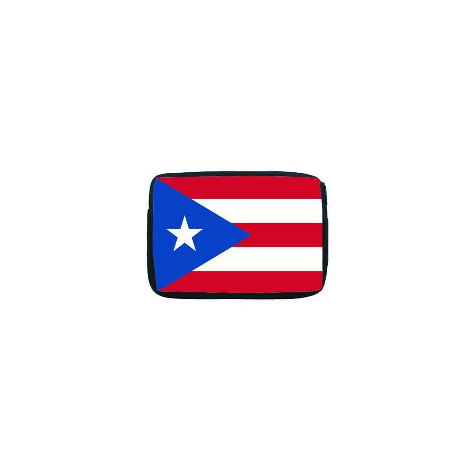 Puerto Rico Flag Netbook 10 Laptop Case