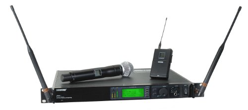 Shure Ur124S/Sm58 Combo Wireless System, J5