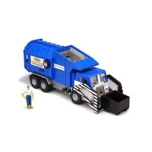 Tonka mighty motorized sanitation truck blue for Tonka mighty motorized street sweeper
