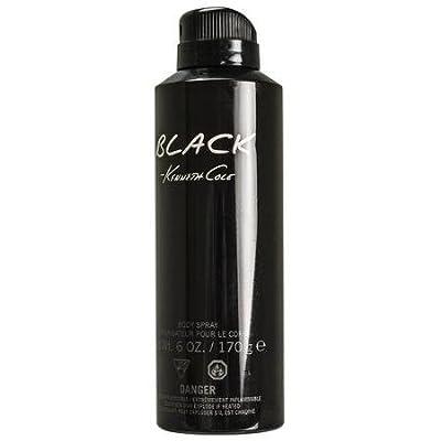 Kenneth Cole Body Spray, Black, 6 Ounce