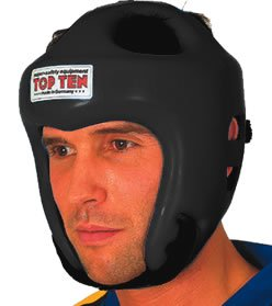 Top Ten Headguard- Olympia Black, Medium [Misc.]