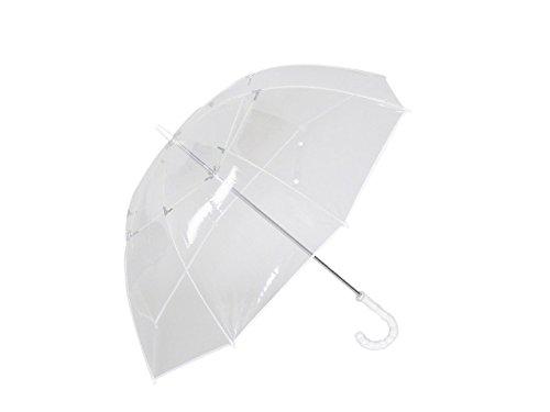ホワイトローズ シンカテール 長傘 手開き 8本骨 65cm 日本製 グラスファイバー骨 耐風傘 [正規代理店品]
