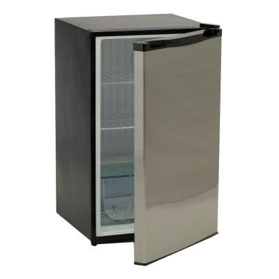 4.5 Cu. Ft. Mini Refrigerator in Stainless Steel Great for an Outdoor Island, Bar or Other Location That Requires Compact Storage (Mini Refrigerator Clearance compare prices)